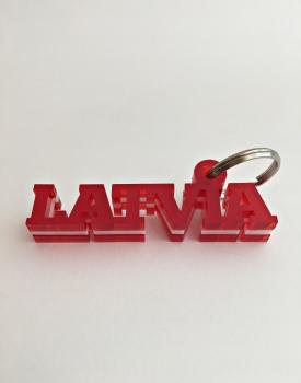 """Atslēgu piekariņš """"Latvia"""""""