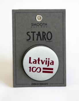 """Atstarotājs """"Latvija 100"""""""