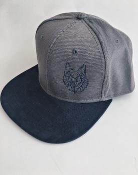 """Cepure ar nagu """"Vilks"""" pelēka"""