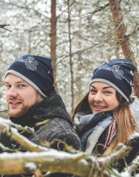 "Cepure ''Latvija"" tumši zila"