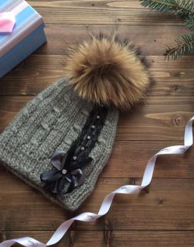 """Ziemas cepure """"Mežģīne"""""""