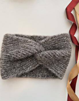 Ear warmer - dark gray