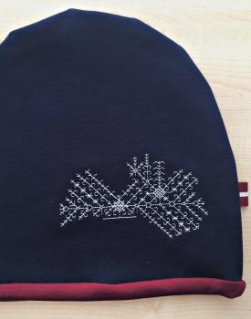 "Cepure ""Latvija"" tumši zila"