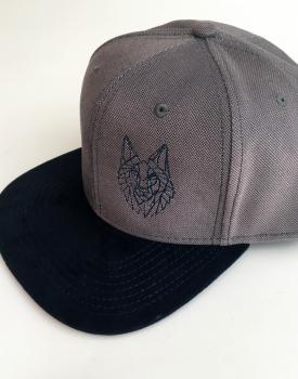 "Cap ""Wolf"" grey"