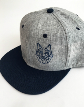 "Cap ""Wolf"" light grey"