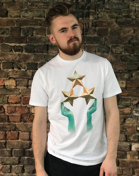 """T-krekls """"Trīs zvaigznes"""" vīriešu"""