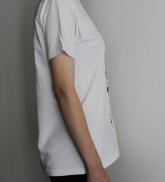 "T-krekls ""Ūdens maskarons"" balts"