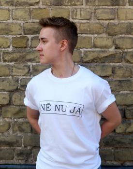 """T shirt """"Nē nu Jā"""" men's"""