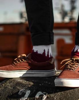 """Socks """"Riga Sock - red"""""""