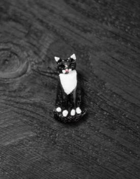 """Piespraude """"Melnbaltais kaķis"""""""