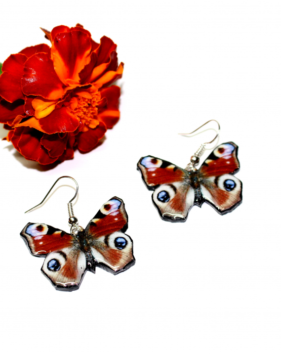 "Earrings ""Butterfly""  - creative"