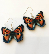 "Earrings ""Butterfly"" - spotted"