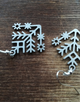 "Earrings ""Small Austra trees"""