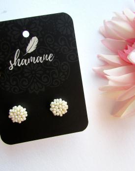 "Earrings ""Everyday Pearl"" white"
