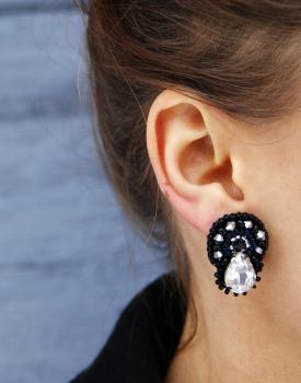 """Earrings """"Brittle dew"""""""