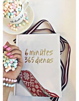 6 minūtes 365 dienas - balta ar jostu