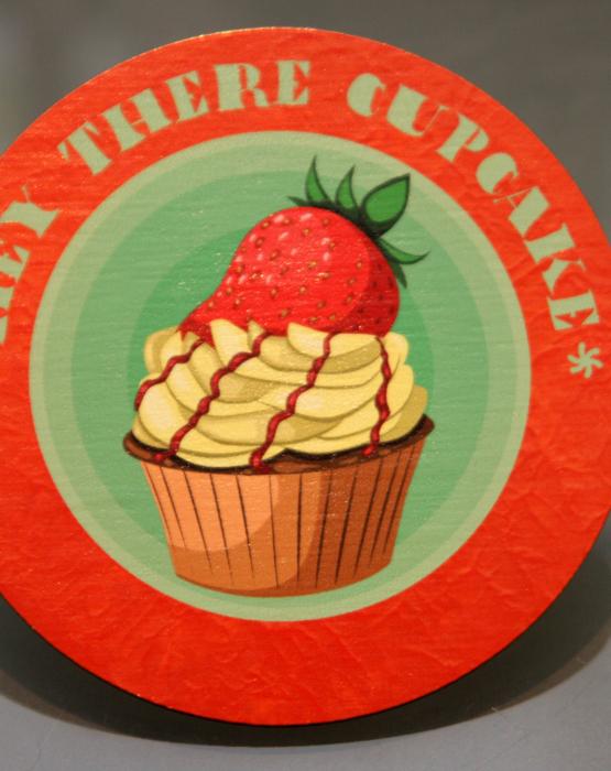 """Krūzes paliktnis """"Cupcake"""" Nr.4"""