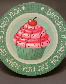 """Krūzes paliktnis """"Cupcake"""" Nr.5"""