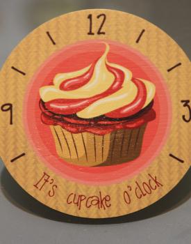 """Krūzes paliktnis """"Cupcake"""" Nr.8"""