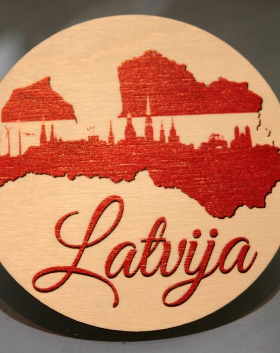 """Krūzes paliktnis """"Latvija"""" Nr.2"""