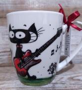 """Krūze """"Muzikālais kaķis"""""""