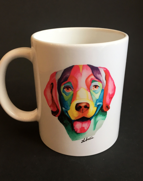 "Mug ""Dog - retriever"""