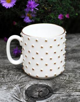 Porcelāna krūze balta - mazā