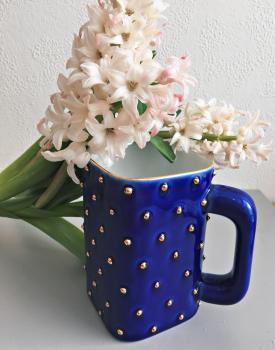 Porcelāna krūze - zila