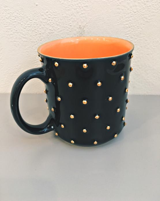 Porcelāna krūze - melna