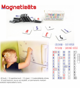 "Magnetic alphabet ""White"""