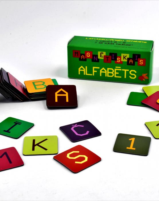 """Magnētiskais alfabēts """"Rudens"""""""