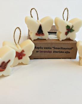"""Rapšu vaska """"Smaržtaureņi"""" Ziemassvētku"""