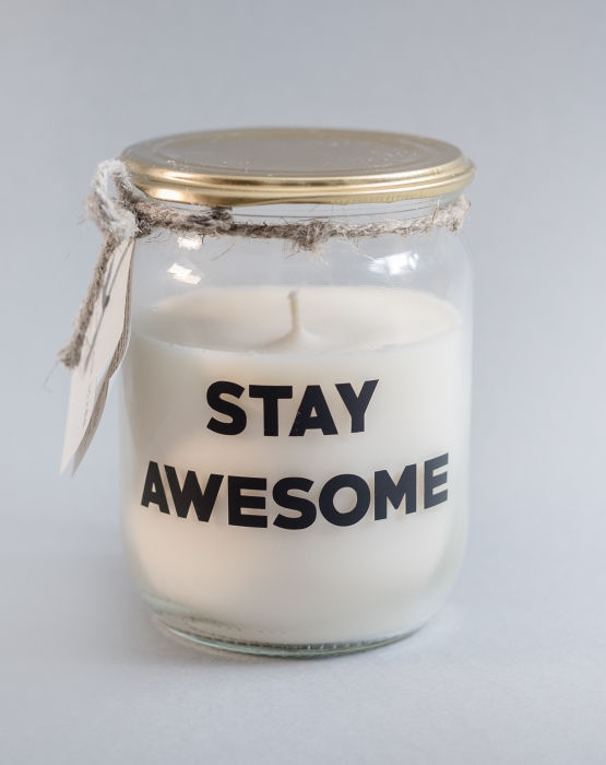 Svece STAY AWESOME