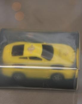 """Ziepes """"Mašīna"""" dzeltena"""