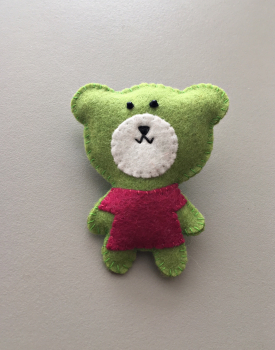 "Brooch ""Bear"""