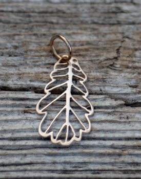 "Bronze pendant ""Oak"" large"