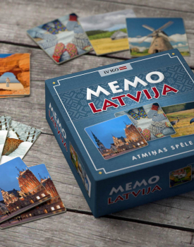 "Atmiņas spēle ""Memo Latvija"""